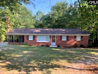 Kershaw Single Family Home For Sale: 605 Woodland