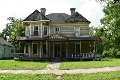 Monetta, Ridge Spring, Wagener, Johnston, Pelion, Newberry, Ward Single Family Home For Sale: 709 Caldwell