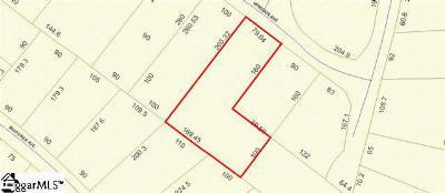 Spartanburg Residential Lots & Land For Sale: Windsor