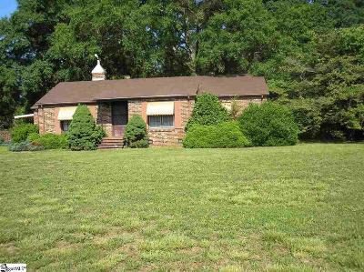Greenville County Single Family Home For Sale: 7847 White Horse