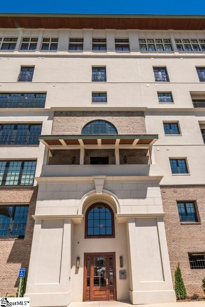 Greenville Condo/Townhouse For Sale: 121 Rhett #Unit 505