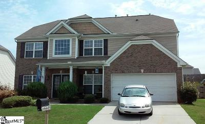 Greenville County Single Family Home For Sale: 138 Morning Tide