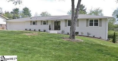 Mauldin Single Family Home Contingency Contract: 107 Braddock