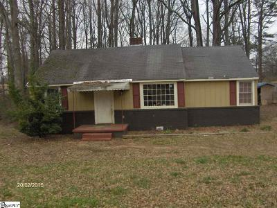 Simpsonville Single Family Home For Sale: 112 Pine