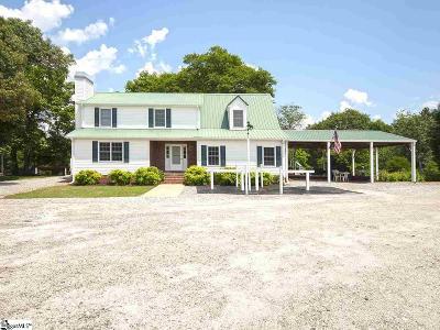 Greer Single Family Home For Sale: 2777 Brockman McClimon