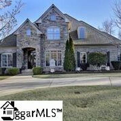 Claremont - Greenville Single Family Home For Sale: 5 Sable Glen