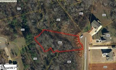 Boiling Springs Residential Lots & Land For Sale: 543 Abberly