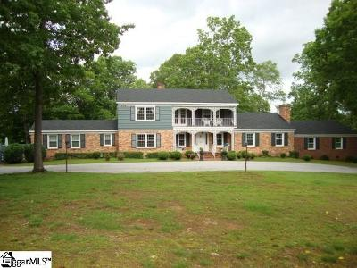 Spartanburg Single Family Home For Sale: 1415 Thornwood