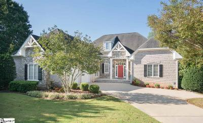Simpsonville Single Family Home For Sale: 7 Broadstone