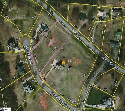 Inman Residential Lots & Land For Sale: 412 Pond Cove