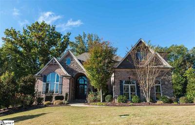 Spartanburg Single Family Home For Sale: 508 Verdae