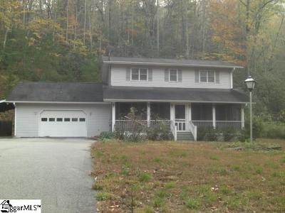 Travelers Rest Single Family Home For Sale: 490 Callahan Mountain