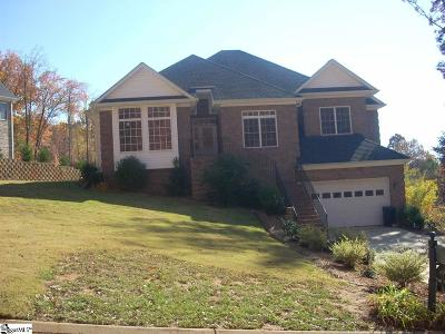 Greenville County Single Family Home For Sale: 136 Club View