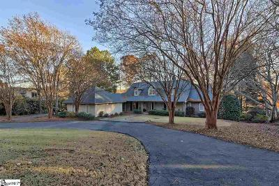 Spartanburg Single Family Home For Sale: 4 Yeamans Hall
