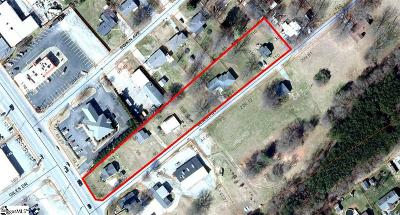 Boiling Springs Residential Lots & Land For Sale: 101 & 105 Beach