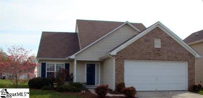 Simpsonville Single Family Home For Sale: 5 Hartwell
