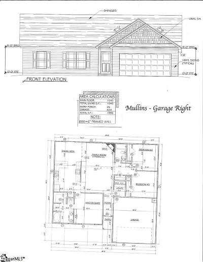 Anderson Single Family Home For Sale: Linmar #Lot 53