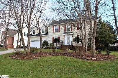 Greenville County Single Family Home Contingency Contract: 205 Golf View