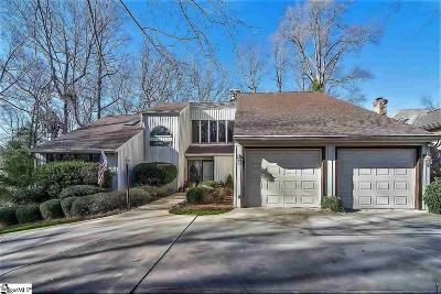 Greenville County Single Family Home For Sale: 232 Hidden Hills