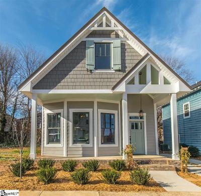 Greenville Single Family Home For Sale: 107 McCall