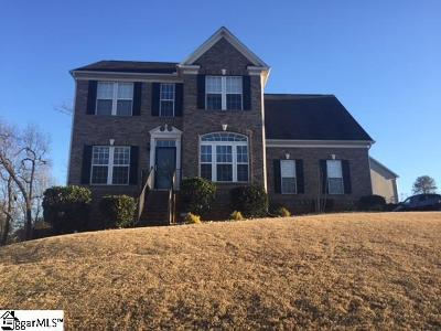 Greenville County Single Family Home Contingency Contract: 51 Meadow Rose