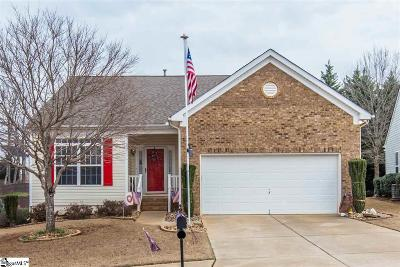 Greenville County Single Family Home For Sale: 822 Medora