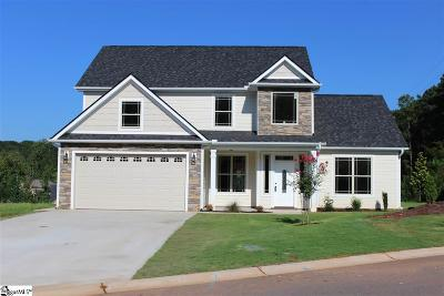 Spartanburg Single Family Home For Sale: 602 Cub Branch #lot 87