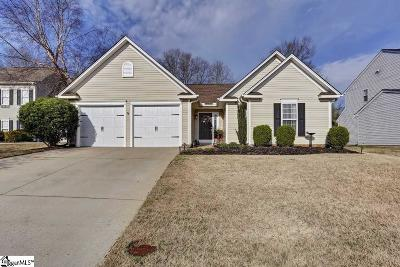 Simpsonville SC Single Family Home Sold: $146,900