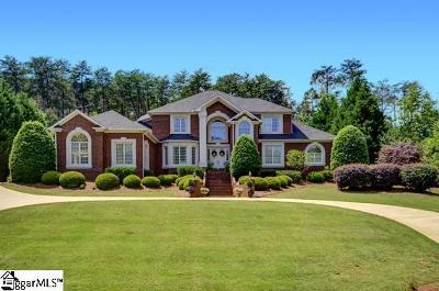 Spartanburg Single Family Home For Sale: 340 Hidden Creek