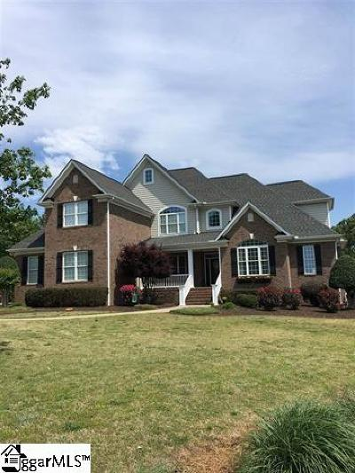 Easley Single Family Home For Sale: 104 Bent Willow