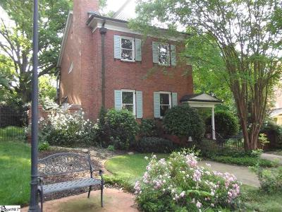 Greenville County Single Family Home For Sale: 37 Harvest