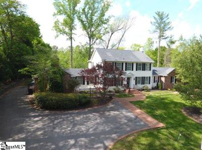 Spartanburg Single Family Home For Sale: 114 Rosewood