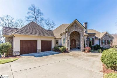 Travelers Rest Single Family Home For Sale: 1011 Mountain Summit