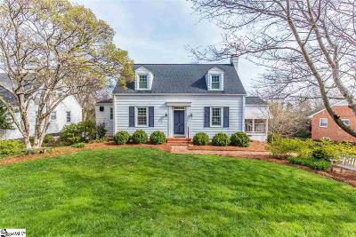 Greenville County Single Family Home For Sale: 454 Longview