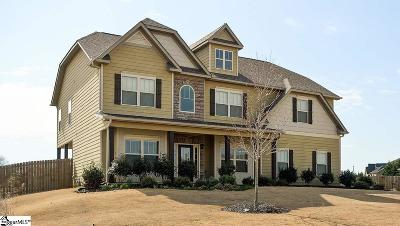 Fountain Inn Single Family Home For Sale: 12 Ridgewater