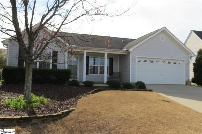 Easley SC Single Family Home Sold: $154,000