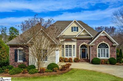Spartanburg Single Family Home For Sale: 239 Horseshoe Lake