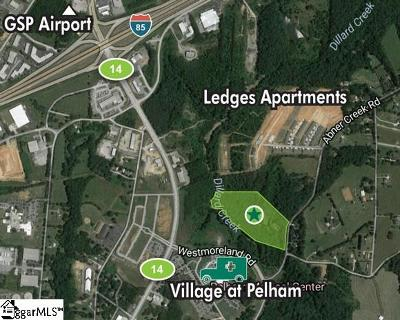 Greer Residential Lots & Land Contingency Contract: 531 Abner Creek
