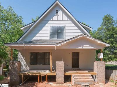 Greenville County Single Family Home Contingency Contract: 106 W Hillcrest
