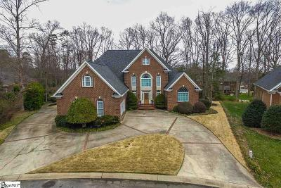 Simpsonville Single Family Home For Sale: 9 Somerleaf