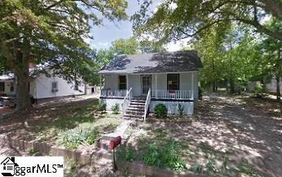 Woodruff Single Family Home For Sale: 553 Perrin