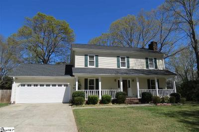 Taylors SC Single Family Home Sold: $207,000
