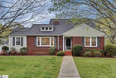 Greenville SC Single Family Home Sold: $374,500