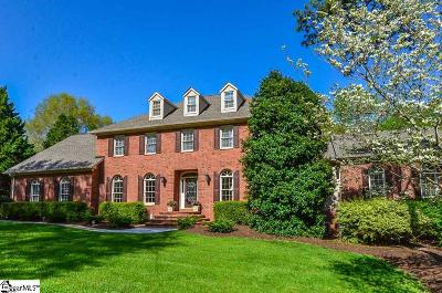 Spartanburg Single Family Home Contingency Contract: 207 Muirfield