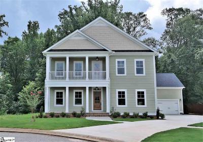 Greer Single Family Home For Sale: 240 Grandmont