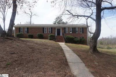 Greenville County Single Family Home For Sale: 205 Mistletoe