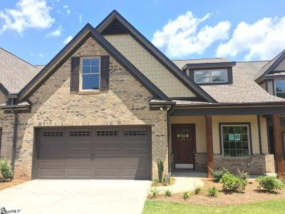 Greenville County Condo/Townhouse For Sale: 341 Scotch Rose #12D