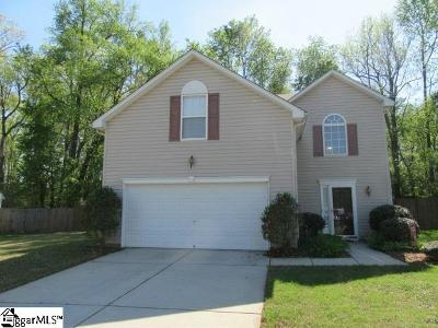 Simpsonville Single Family Home For Sale: 8 Brookhaven
