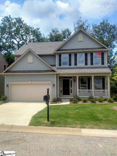 Greenville County Single Family Home For Sale: 24 Parkwalk #Lot 43