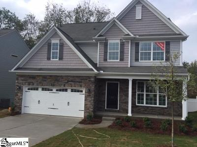 Greenville County Single Family Home For Sale: 22 Parkwalk #LOT 44